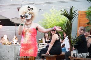 Summer Strut emcee Carla Rossi - Portland fashion photographer