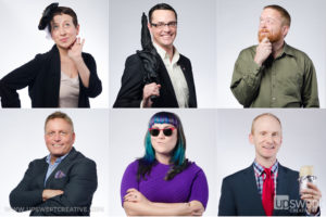 Professional Headshots don't necessarily mean dull and serious